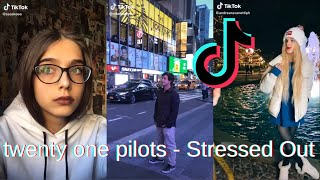 twenty one pilots - Stressed Out TikTok Compilation