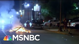 Police In Louisville Fire Pepper Bullets At Press During Chaotic Protest | The 11th Hour | MSNBC