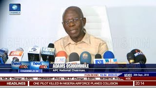 Osun Governorship Election: Oshiomhole Denies Claim Of Rigging By APC