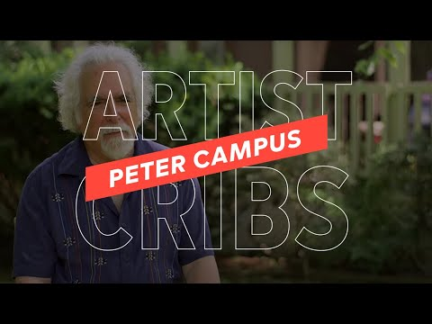 Artist Cribs: Peter Campus—Media Artist, Cat Person | SFMOMA Shorts