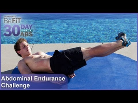 abdominal endurance challenge  30 day 6 pack abs  youtube