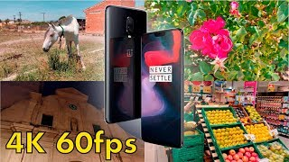 OnePlus 6 Prueba de video (4K 60fps)