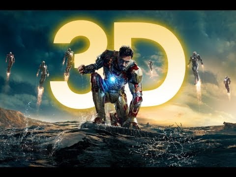 IRON MAN 3 - Trailer 2 Oficial Español Latino - HD 3D