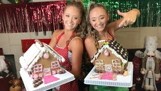 Gingerbread House Challenge | Teagan & Sam