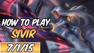 Sivir Guide