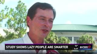 Study Finds Lazy People Are Smarter