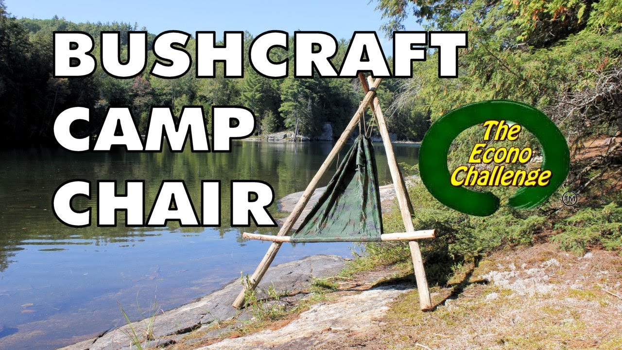 Amazing Wilderness Camp Hammock Chair Bushcraft Chair
