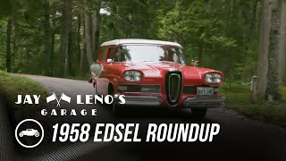 Jay Drives In A 1958 Edsel Roundup With Martha Stewart - Jay Leno's Garage