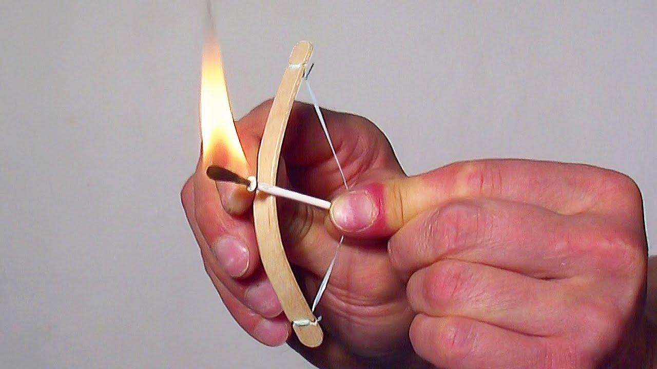 How To Make A Mini Bow And Arrow Youtube