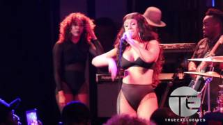 Cardi B Takes Over BET Music Matters Stage In NYC