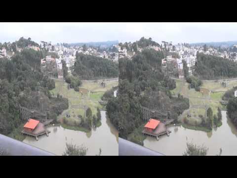 3D - Parque Tanguá Curitiba - Sony HDR-TD10