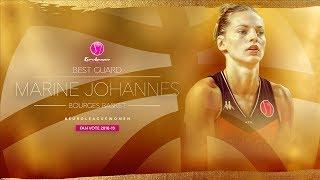Marine Johannes   Ridiculous Plays!   Full Season Mixtape - EuroLeague Women 2018-19