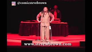 Steve Brown at Damon Williams New Year's Eve Comedy Bash