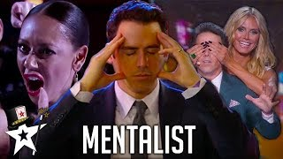 REAL Mind-Reader! Oz Pearlman The Mentalist on America's Got Talent | Magicians Got Talent