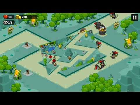 video Tower Defense Game
