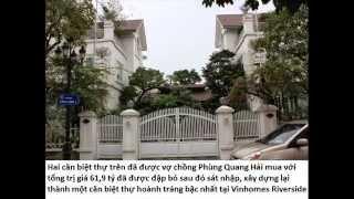 Khối tài sản khổng lồ của Phùng Quang Thanh _ Chân Dung Quyền Lực
