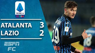 Atalanta beats Lazio 3-2 in STUNNING Coppa Italia quarterfinal! | ESPN FC Highlights