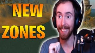 "Asmongold Reacts to ""Classic WoW Demo: More Zones revealed (In Game Footage)"" by Alodar"