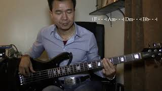 """""""You Say"""" by Lauren Daigle - Bass Cover"""