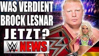 Wieviel verdient Brock Lesnar, Hat sich Alexa Bliss die Brüste vergrößern lassen? | WWE NEWS 28/2018