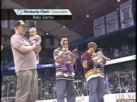 Chicago Wolves Baby Derby '09