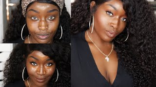 Fenty Beauty CONCEALERS & SETTING POWDERS | Pro Filt'r Concealer 450 & Powder Demo + Wear test