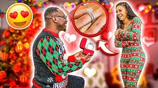 I PROPOSED TO BIANNCA ON CHRISTMAS DAY ❤️