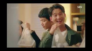 OH Dae Gi and NA Young Joo Scene from Where Stars Land