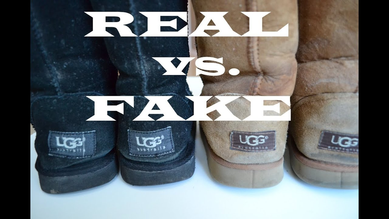 How To Tell If Your Ugg Boots Are Real Youtube