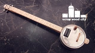 How to make an Electric Canjo Guitar