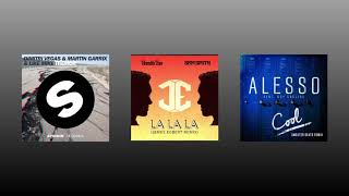 Tremor vs. La La La vs. Cool (Martin Garrix Mashup) [YD Remake]