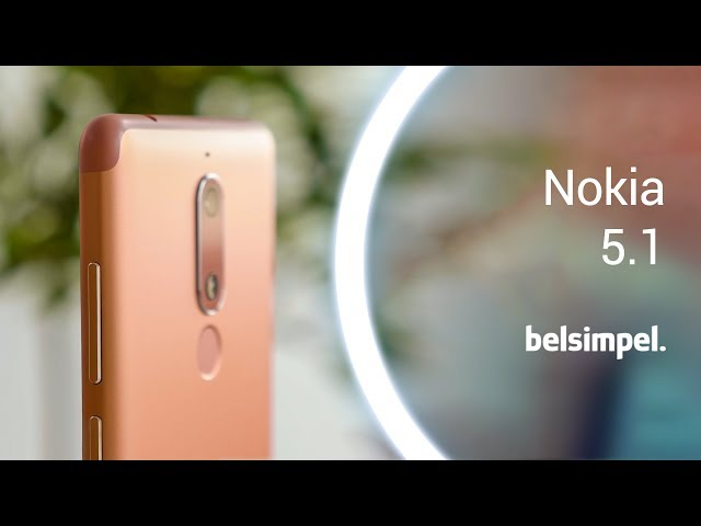 Belsimpel-productvideo voor de Nokia 5.1 32GB Black