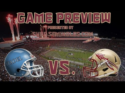 Game Preview: No. 1 Florida State vs. The Citadel