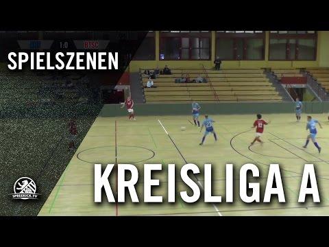 FC Arminia Tegel - Berliner TSC (Hallenturnier der Kreisliga A, Vorrunde, Gruppe 3) - Spielszenen | SPREEKICK.TV