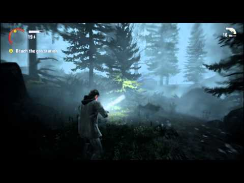 Let's Play - Alan Wake #3 -FULL ON RAGE!