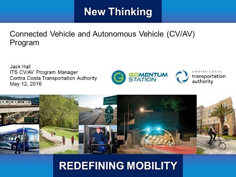ET2016 Session 21:Redefining Mobility with Connected and Autonomous Vehicles - CCTA