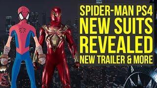 Spider Man PS4 DLC Suits REVEALED, New DLC Trailer & More! (Spiderman PS4 DLC Suits)