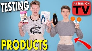 TESTING *AS SEEN ON TV* PRODUCTS Sibling Tag | Collins Key