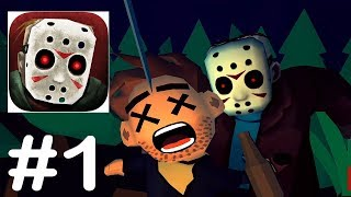 Friday the 13th: Killer Puzzle - No Blood Mode Gameplay Walkthrough Part 1 - Crystal Lake Memories