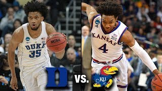 Duke vs. Kansas Preview | Winner To The Final Four