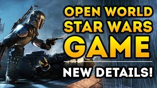 New Open World Star Wars Game - NEW DETAILS! Big Triple-A Developers and More!