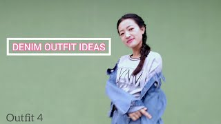 DENIM OUTFIT IDEAS | How to style denim clothing | Denim Fashion | Onya