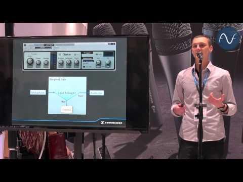 [NAMM] Sennheiser Laser Drum Microphone