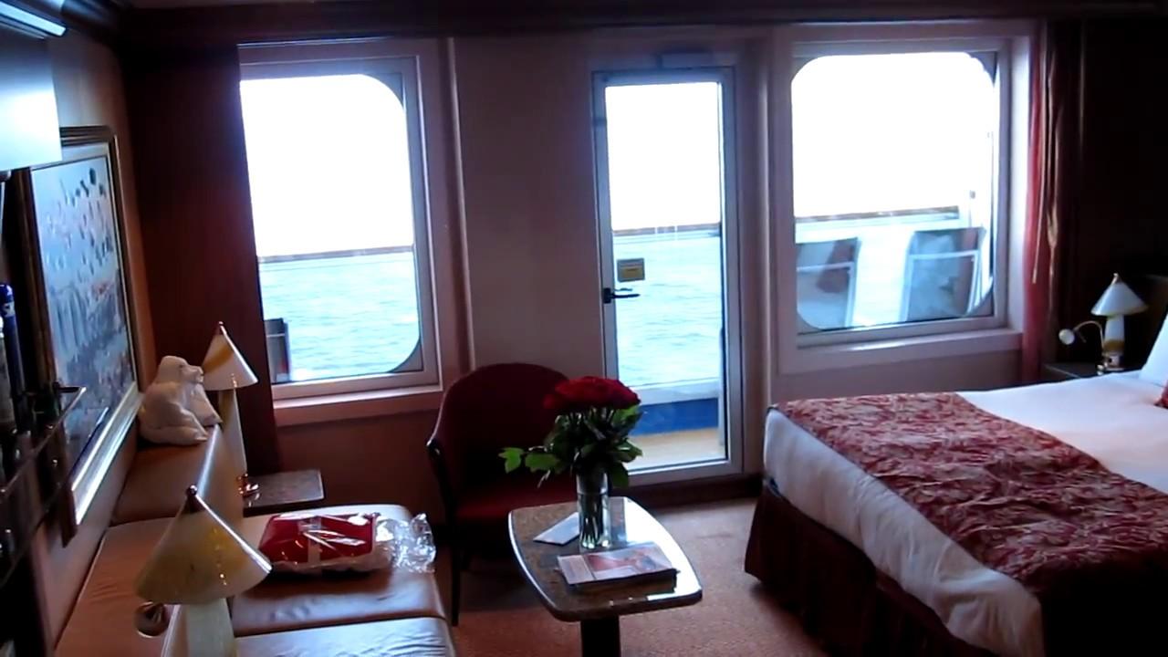 Carnival Splendor Ocean Suite 7328 Room Tour Youtube