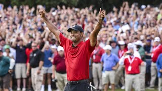 Tiger Woods' best shots 1996-2019 (excluding majors)