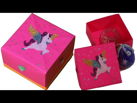 şeker Kutusu Yapımı Candy Gift Box Videomovilescom