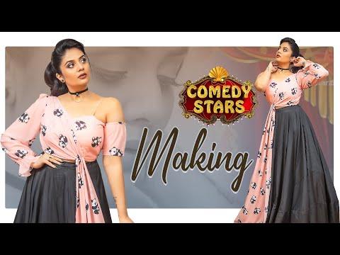Sreemukhi celebrated Friendship Day with Vishnupriya, Avinash on Comedy Stars shoot