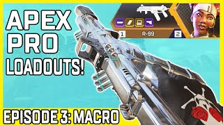 Apex Pro Loadouts #3: I Asked Macro His Favorite Loadout, Then Used It For a Day In Apex Legends