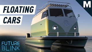 Prototypes Imagine What It'd Be Like to Blend a Classic Car and A Boat | Mashable