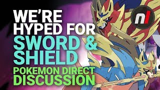 We Admit It, We're HYPED About Pokémon Sword and Shield Now